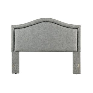 Best Reviews Griffithville Upholstered Panel Headboard by Three Posts