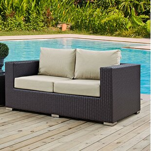 Patio Loveseat Cushions | Wayfair