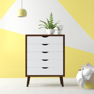 Roberta Modern 5 Drawer Accent Chest