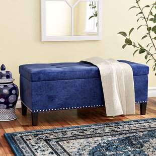 Bretton Upholstered Storage Bench by Alcott Hill
