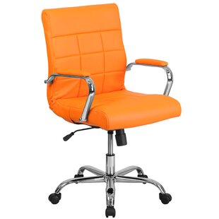 Save  sc 1 st  Wayfair & Orange Office Chairs Youu0027ll Love | Wayfair