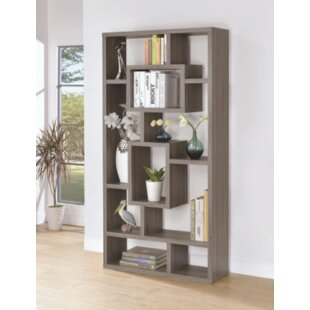 Hambrick Geometric Bookcase