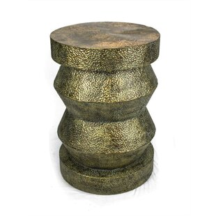 Piland Artfully Metal End Table