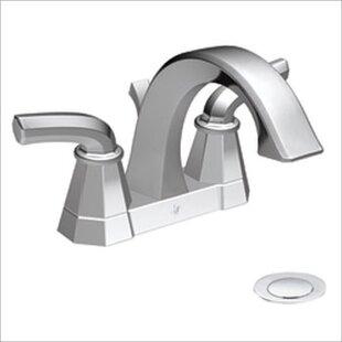 Affordable Felicity High Arc Centerset Bathroom Faucet ByMoen