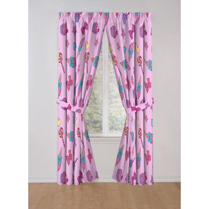 Nickelodeon Jojo Siwa Dream Believe Room Darkening Curtain Panels