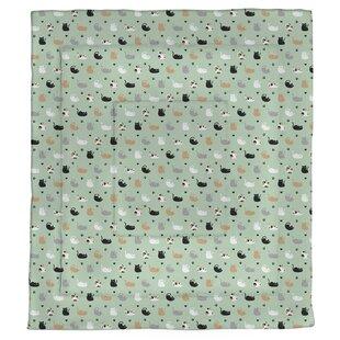Avicia Cat Pattern Single Reversible Comforter by Latitude Run