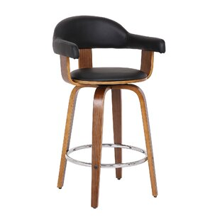 gray swivel office chair 75 vintage wooden mackey 26 swivel bar stool wrought studio shop up to 75 off on