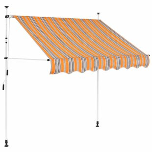 Canyon W 2 X D 1.2m Retractable Patio Awning By Sol 72 Outdoor