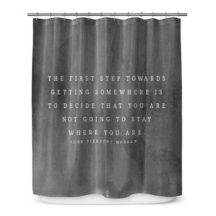 The First Step Single Shower Curtain