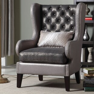 A&J Homes Studio Bailey Wing back Chair
