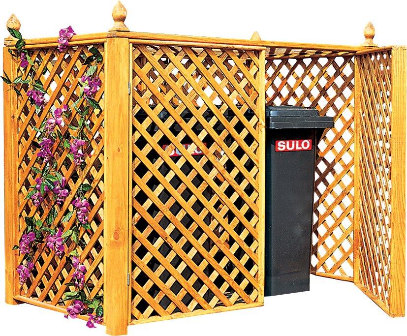 dcor design 136 x 164 cm m lltonnenbox aus holz. Black Bedroom Furniture Sets. Home Design Ideas