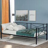 Friedland Twin Metal Daybed by 17 Stories