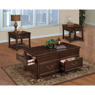 Alcott Hill Darrion 3 Piece Coffee Table Set