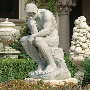 The Thinker Garden Statue