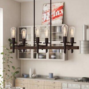 Bargain Redvale 6-Light Kitchen Island Pendant By Trent Austin Design