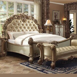 Mccarroll Upholstered Panel Bed by Astoria Grand Wonderful