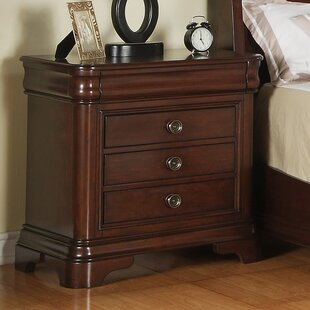 Great choice Segars 3 Drawer Nightstand by Three Posts