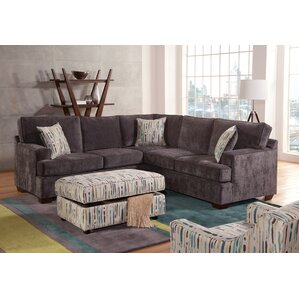 Delma Sectional by Red Bar..