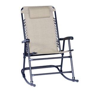 Doyden-Davis Folding Rocking Chair by Red Barrel Studio