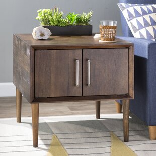 Langley Street Napoleon End Table with Storage