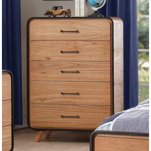 Harriet Bee Carnamaddy 5 Drawer Chest