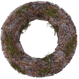 25cm Moss Wreath Image