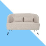 Cheeky 49.5 Recessed Arm Loveseat by Hashtag Home