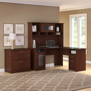 Hillsdale 3 Piece L-Shape Executive Desk Office Suite