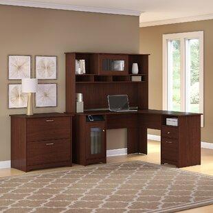 Hillsdale 3 Piece L-Shape Executive Desk Office Suite