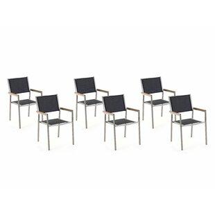 Maxton Stacking Garden Chair (Set Of 6) By Ebern Designs