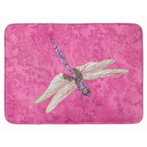 Dragonfly Memory Foam Bath Rug