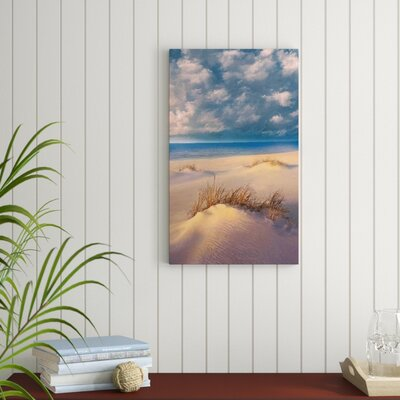Windblown Photographic Print Highland Dunes Size 515 H X 315 W X 2 D Format Floater Framed
