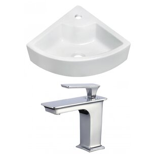 Royal Purple Bath Kitchen Ceramic Specialty Vessel Bathroom Sink with Faucet