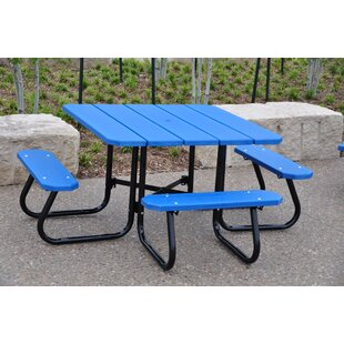 Recycled Plastic Square Picnic Table