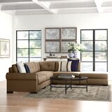 Willia Buttoned 121'' Modular Sectional by Three Posts