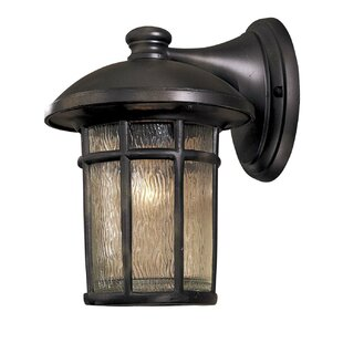 Cranston 1-Light Outdoor Wall Lantern by Great Outdoors by Minka