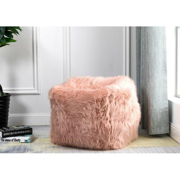 Pleasing Faux Fur Pouf Wayfair Short Links Chair Design For Home Short Linksinfo