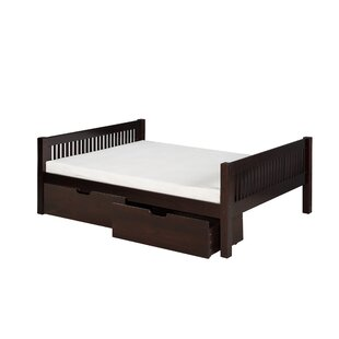 Oakwood Twin Slat Bed by Harriet Bee 2019 Sale