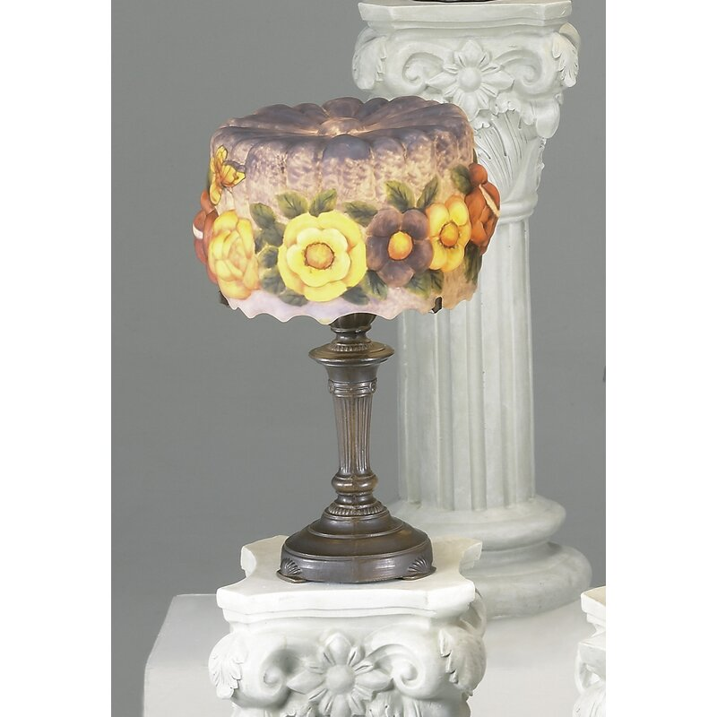 """AA Importing Floral 19"""" Table Lamp"""