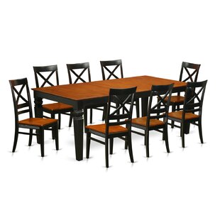Beesley 9 Piece Rectangular Dining Set DarHome Co
