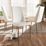 Schutzer Upholstered Dining Chair (Set of 4) by Orren Ellis