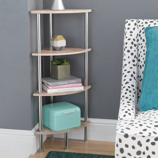 Adelinna Corner Bookcase by Latitude Run Today Sale Only