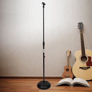 Microphone Adjustable Height Speaker Stand by Pyle