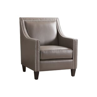 Charlton Home Stahlman Faux Leather Armchair
