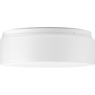 Ebern Designs Mcculloch 1-Light LED Flush Mount