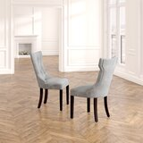 Caravilla Tufted Upholstered Side Chair by Willa Arlo Interiors