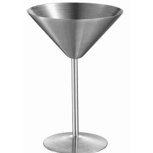Charlotte Martini Glass 6 oz. Stainless Steel