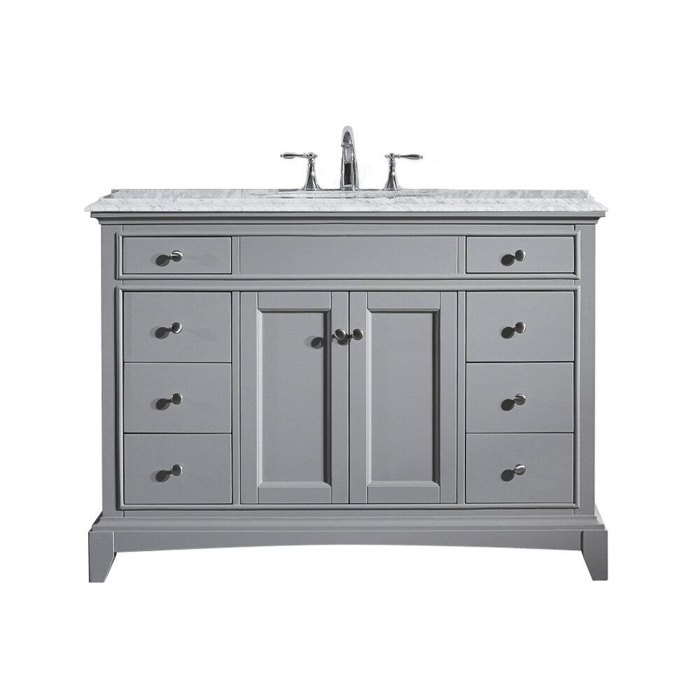 Canora Grey Pinkston 42 Single Bathroom Vanity Set Reviews Wayfair