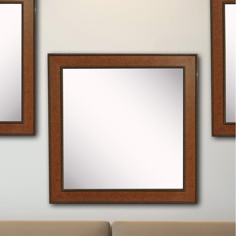 Charlton Home 3 Piece Kimzey Western Rope Rustic Wall Mirror Set Wayfair