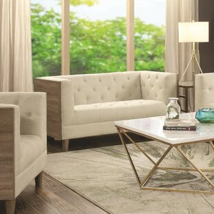 Childers Contemporary Loveseat by Mercer41